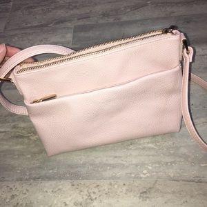 Cute pink crossbody purse